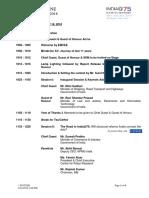 Schedule Mindmine Summit 2018