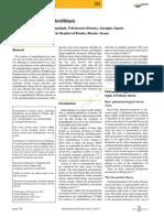 Patofisiologi Kidney Stones