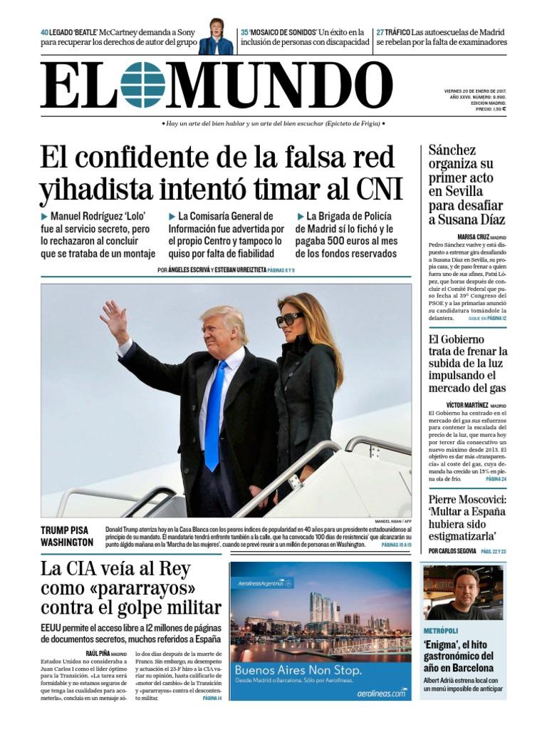 El Mundo  20-01-17  bc21f270d65