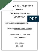 Proyecto Maestra Reciente Informe Del Proyecto