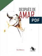 Despues de Amar - Felix Matienzo
