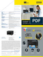 Folleto Epson EcoTank L4150