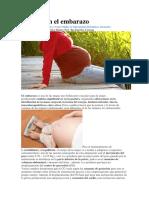 Postura en El Embarazo