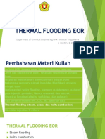 12 13 14 Thermal Flooding EOR
