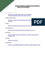 Etat Des Sites Web de Quelques Organismes de Formation