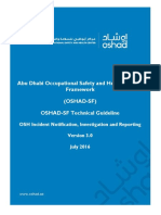OSHAD-SF - TG - OSH Incident Notification and Investigation and Reporting v3.0 English