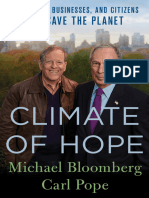 Michael Bloomberg, Carl Pope - Climate of Hope (2017, St. Martin's Press)