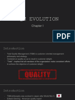 Chapter 01 - TQM Evolution