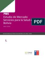 PMS Bolivia Servicios Salud 2016