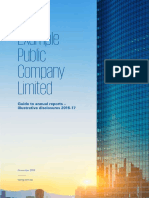 Example Public Company Limited Illustrative Disclosures 2016 2017