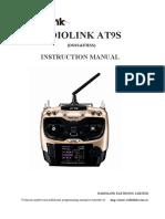 Radiolink AT9S-Instruccion Manuel