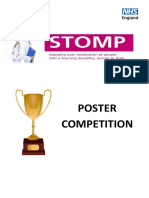 STOMP Poster Competition Easy Read