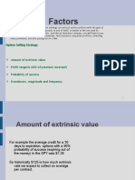 positive expected  value