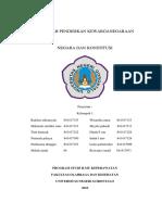 236812345 Negara Dan Konstitusi Makalah PKn