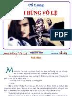 Anh Hùng Vô Lệ- Cổ Long