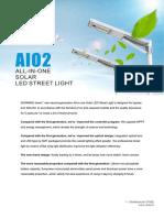 Technical Brochure AIO Solar Street Light SINES