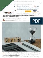 Mai Trebuie Să Depui Ceva La Fisc Până Pe 25 Mai Pentru Veniturile Realizate În 2017