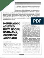 Acustica Ambientale E Trattamenti Acustici(1)