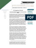 Cómo hacer Evangelismo Personal.pdf