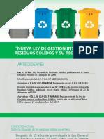 Nueva Ley de Gestión Integral de Residuos Sólidos y Su Reglamento (1)
