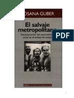 Guber El Salvaje Metropolitano Cap 4 y 5