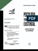 Psicologia Fenomenológica Existencial - Aprática Psicologica à Luz de Heidgger