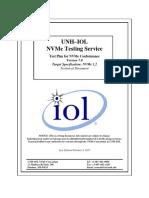 UNH-IOL NVMe Conformance Test Suite v7.0