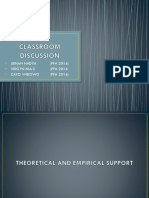 Classroom Discussion Ppt