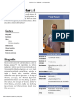 Yuval Noah Harari - Wikipedia, La Enciclopedia Libre