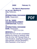 204. Heirs of Uy v International Exchange Bank