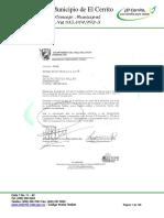 Acuerdo No. 015 de 2016 Pdm El Cerrito