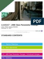 L115217 - EnB Class Parameter Change