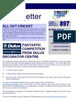 NatWest Cricket Force 2011 Newsletter - September