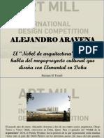Haiman El Troudi - Alejandro Aravena, el Novel de Arquitectura, chileno, Habla del Megaproyecto Cultural que diseña con Elemental en Doha
