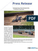 95 2018 European Individual Grass Track Championship at Wittstock Germany