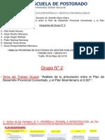 Plan Bicentenario y PDLC -MPT Eje 5