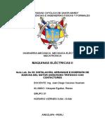 Instalación, Arranque e Inversión de Marcha Del Motor Asíncrono Trifásico Con Contactores
