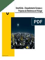 Smartgrids - Contexto Europeu Etapas de Implementação Em Portugal