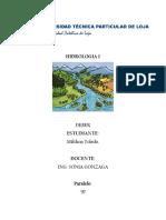 Tarea 1 Segundo Bimestre Hidrologia