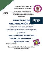 Organizacion Cumis Regional Huancasancos