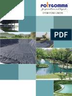 Polygomma EPDM Pond Liner Brochure