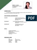 ALYZA MARIE S. ULITA - Resume.docx