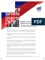 DTI Policy Brief 2017 05 Philippine Inclusive Innovation Industrial Strategy