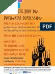 Postnatal Depression Event_Poster1