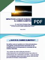 Cambio Climatico Impacto Salud Humana2015
