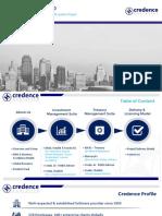 Credence Analytics Presentation for BPI