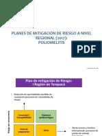 Planes de Mitigación de Riesgo