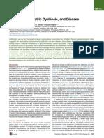 Antibiotics, Pediatric Dysbiosis, And DiseaseREVISADO