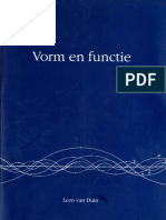 Vorm en Functie