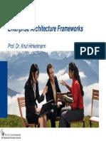 EA 2 EA Frameworks